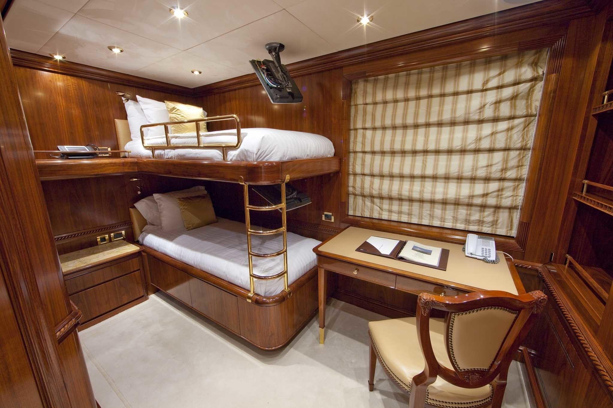 Children's Bedroom Aboard Yacht TITANIA