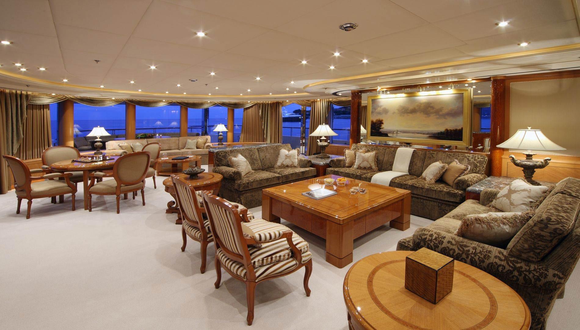 Yacht CAPRI By Lurssen - Interior