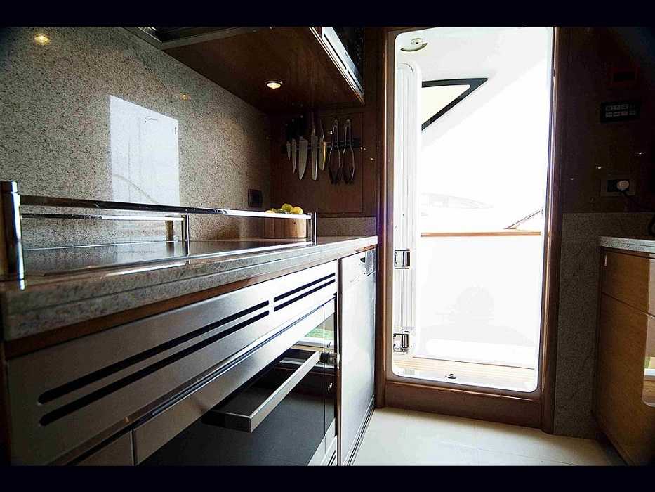 Spacious Galley