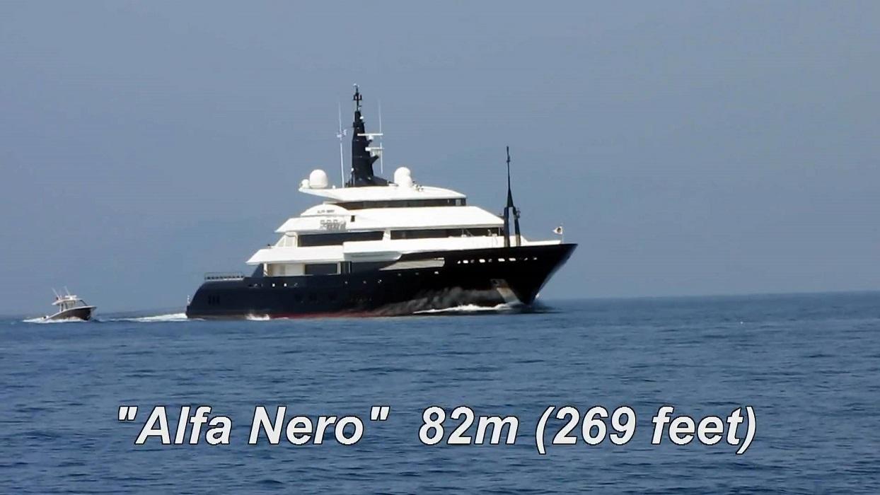 82m ALFA NERO