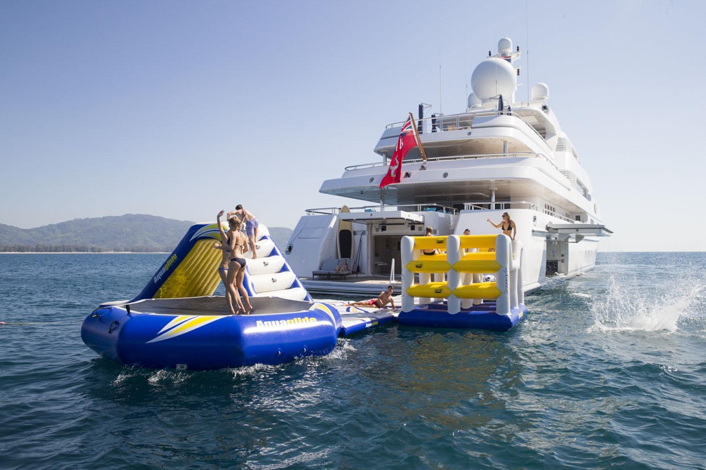 Charter Luxury Yacht Titania For Ultimate Fun