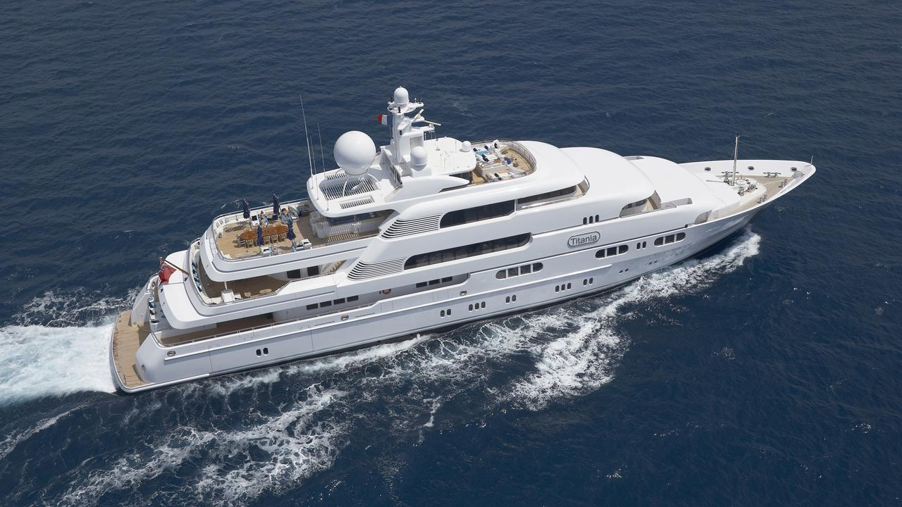 Luxury Superyacht Titania