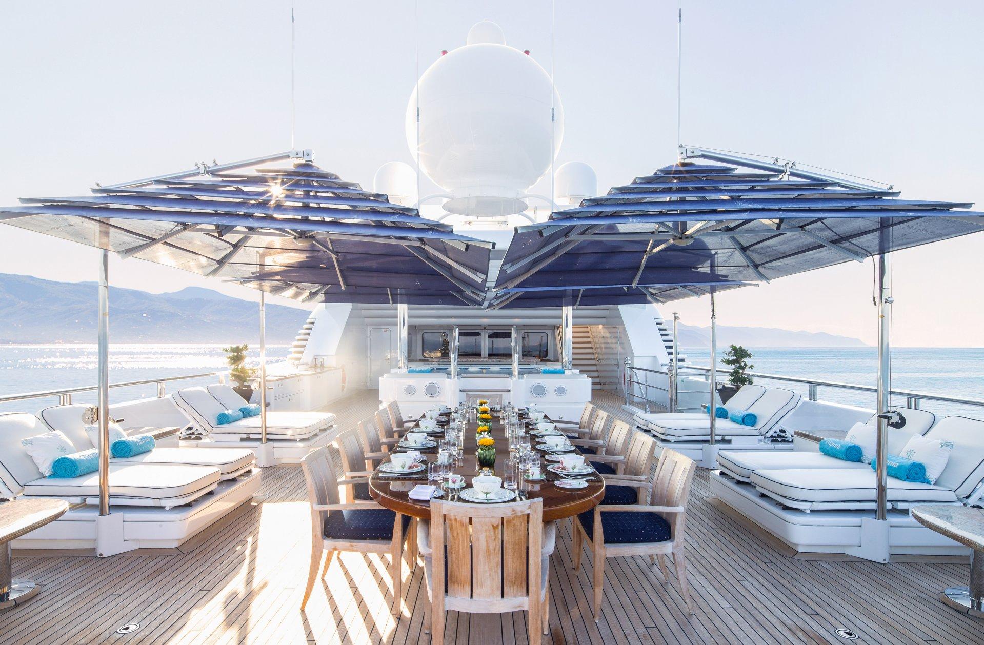 Pool Deck - Alfresco Dining Area Sunbathing
