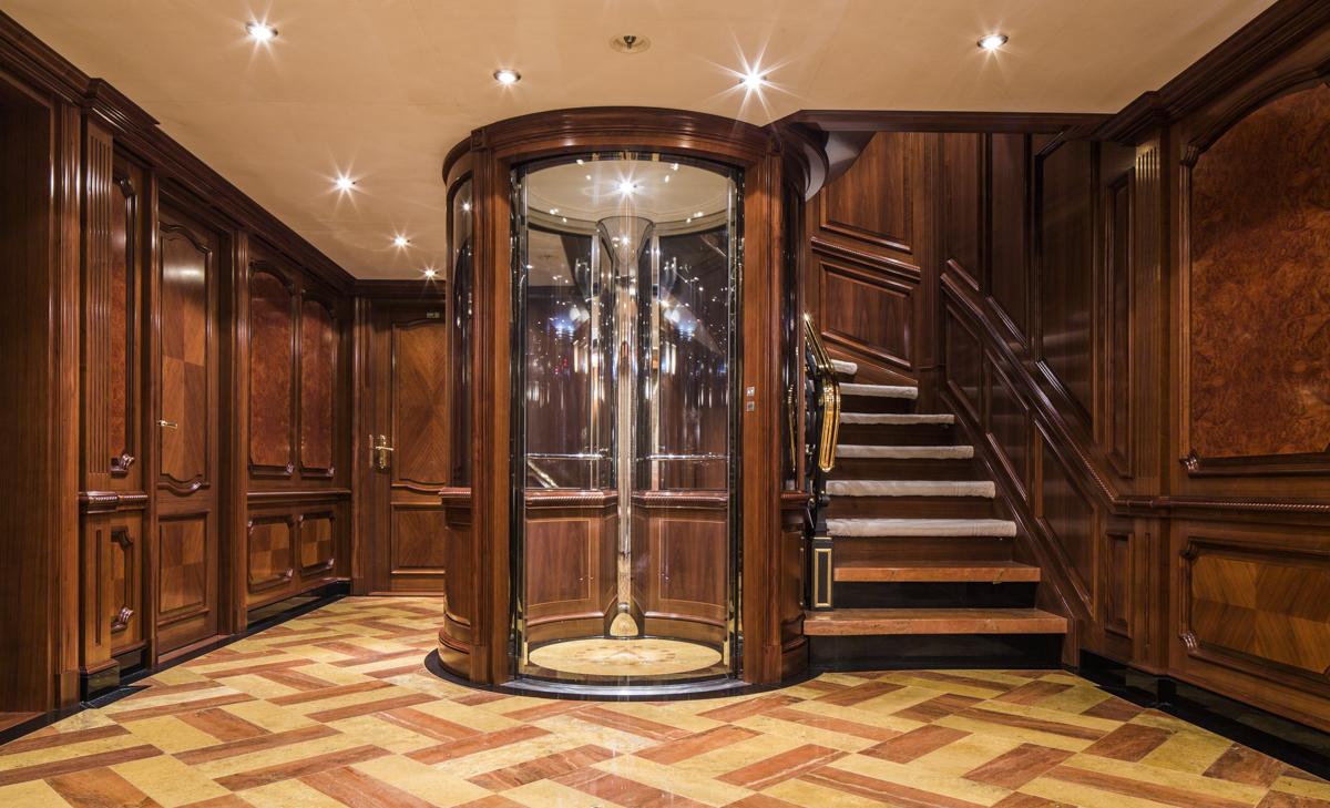 TATANIA Main Deck Foyer