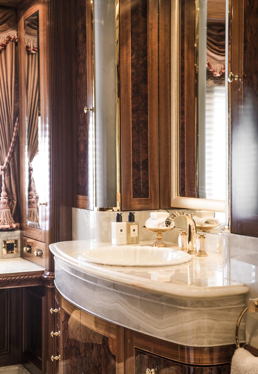 TATANIA Master Suite Bathroom Detail