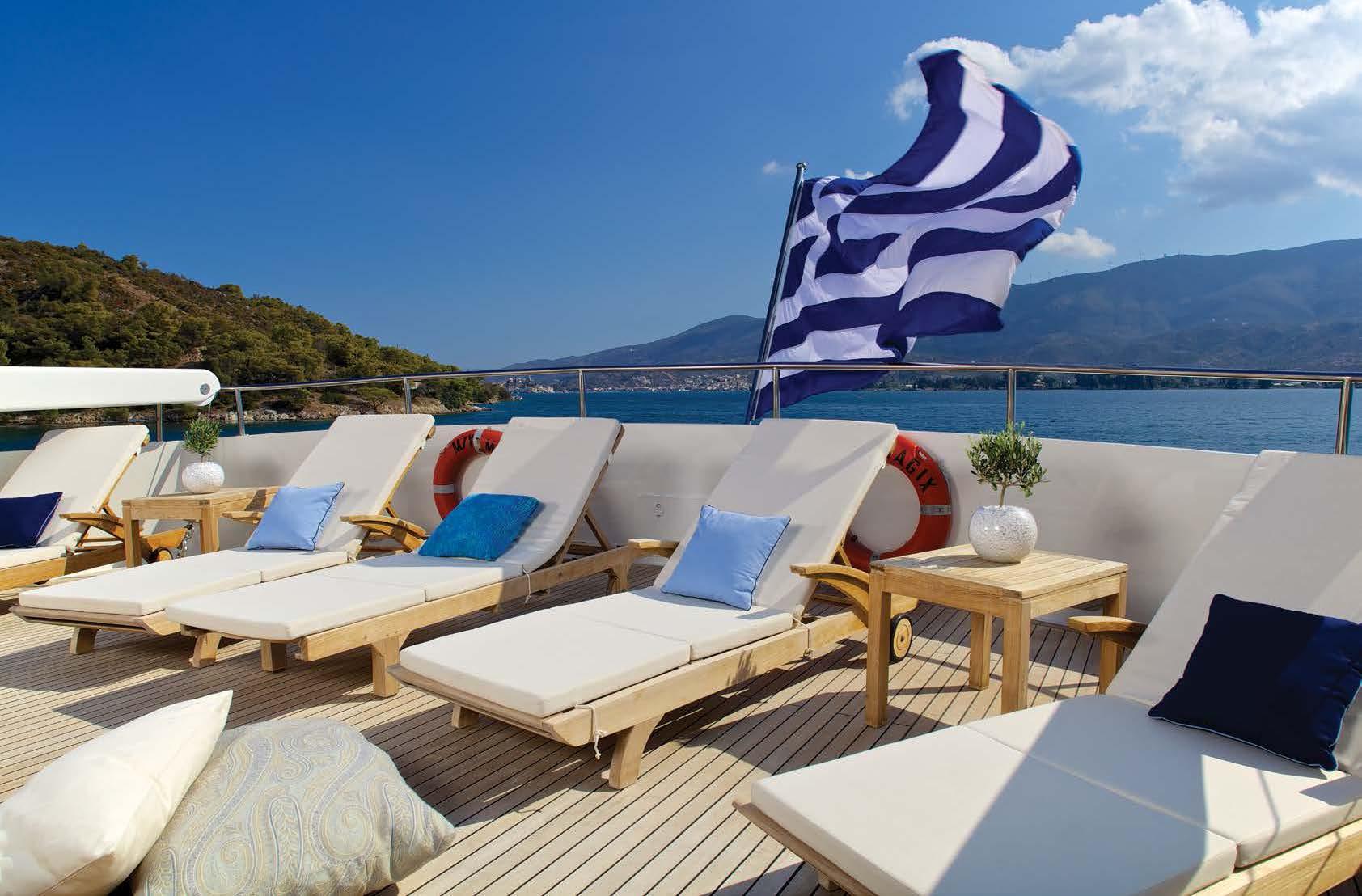 Top Deck Sunbathing