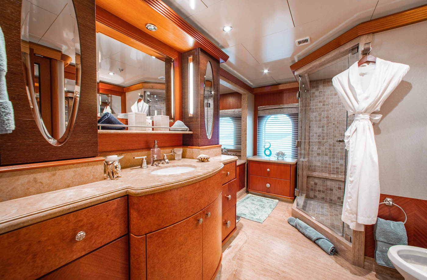 Upper Master - Her Bathroom With Shower And Spa