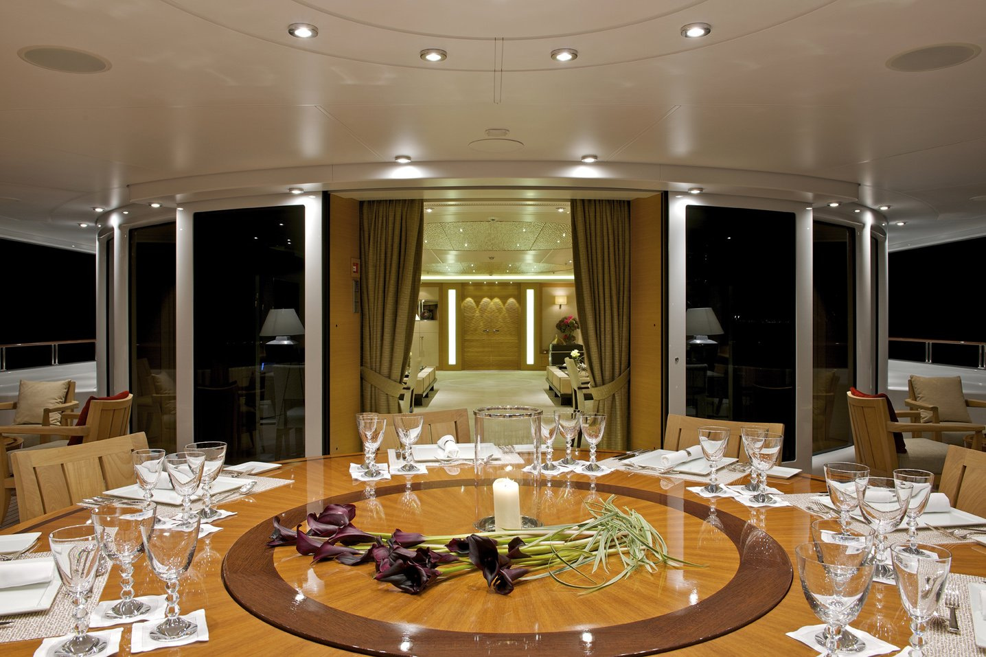 Yacht CAIPIRINHA By Lurssen - Aft Al Fresco Dining