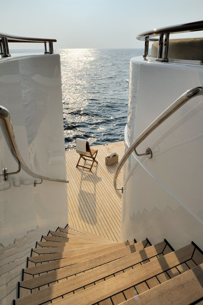 Yacht CAIPIRINHA By Lurssen - Aft Swimming Platform