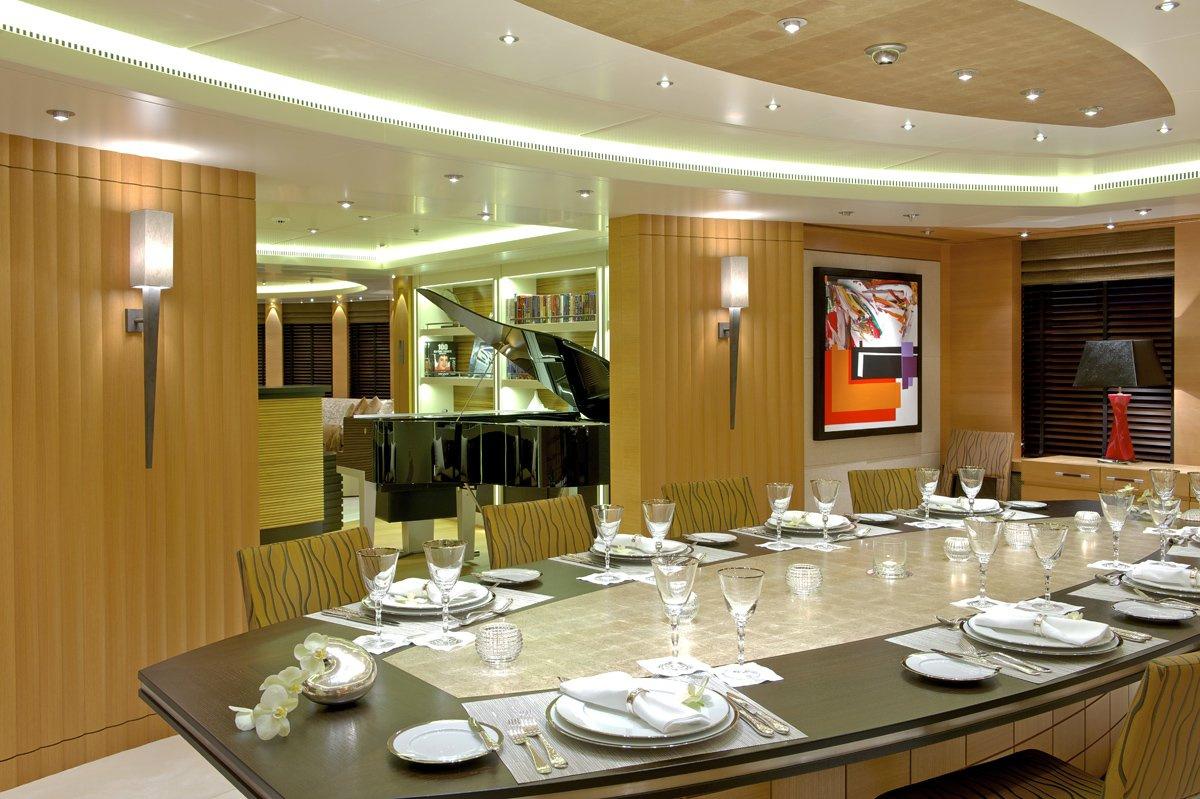 Yacht CAIPIRINHA By Lurssen - Dining