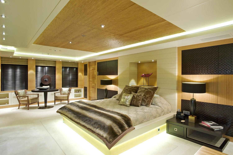 Yacht CAIPIRINHA By Lurssen - Master Stateroom