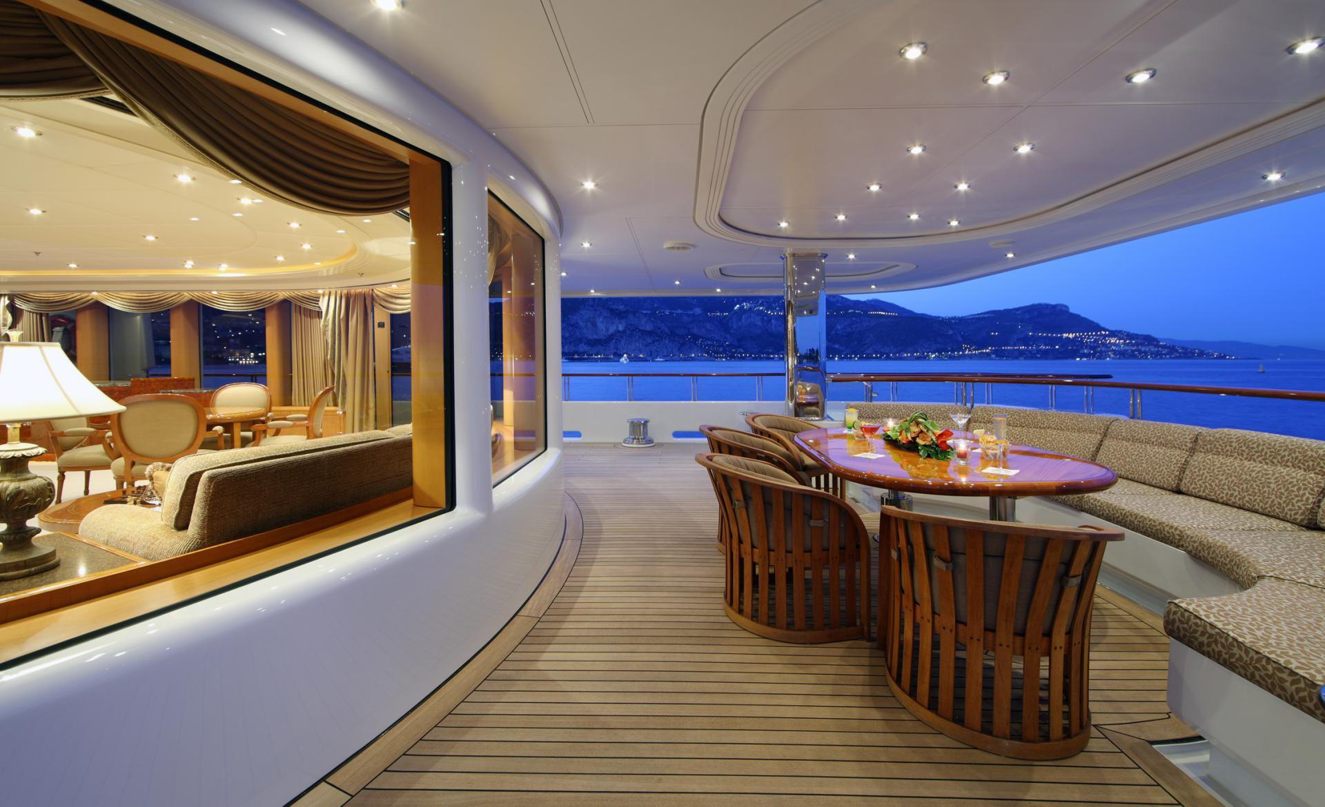 Yacht CAPRI By Lurssen - Entertaining