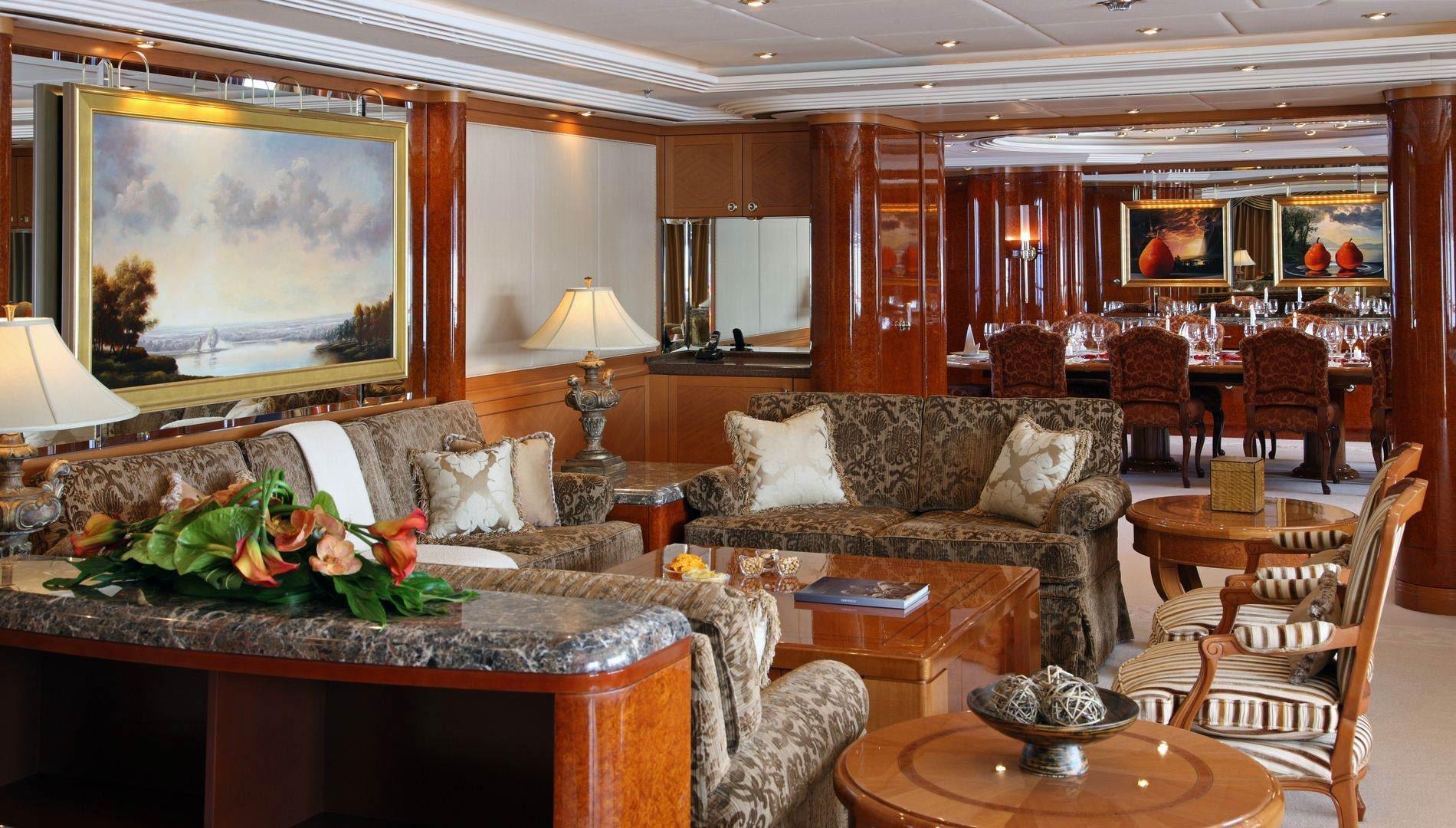 Yacht CAPRI By Lurssen - Seating