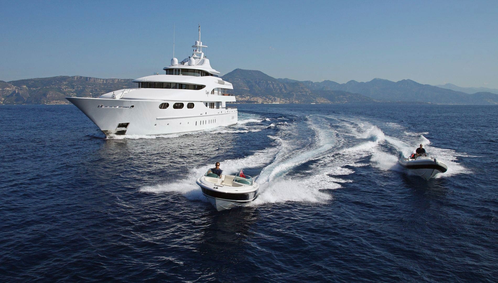 Yacht CAPRI By Lurssen - Tenders In The French Riviera