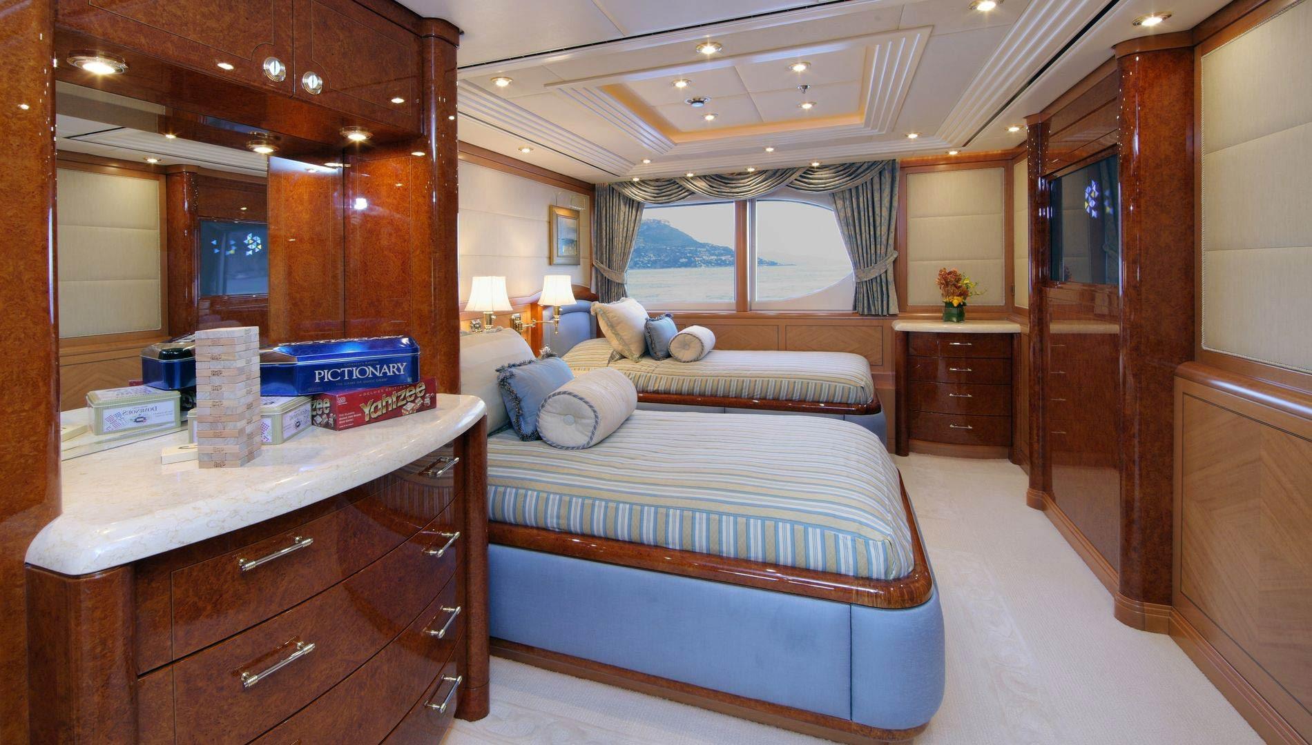Yacht CAPRI By Lurssen - Twin