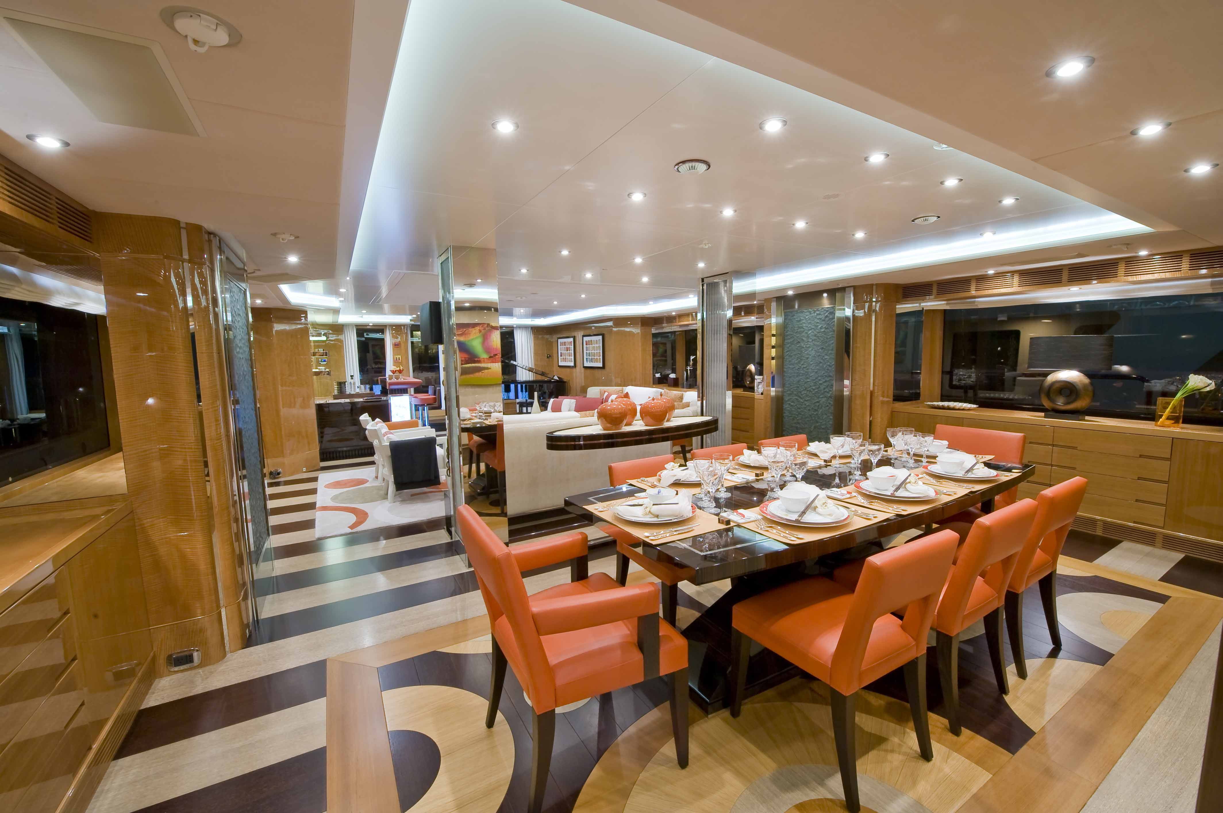Yacht MAG III By Benetti - Dining