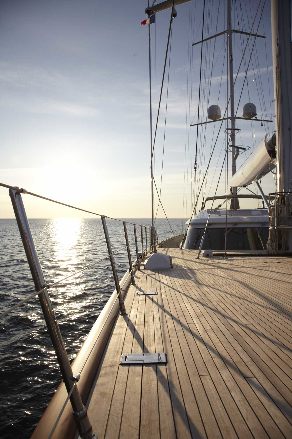 Yacht PANTHALASSA By Perini Navi - Dusk  - Foredeck