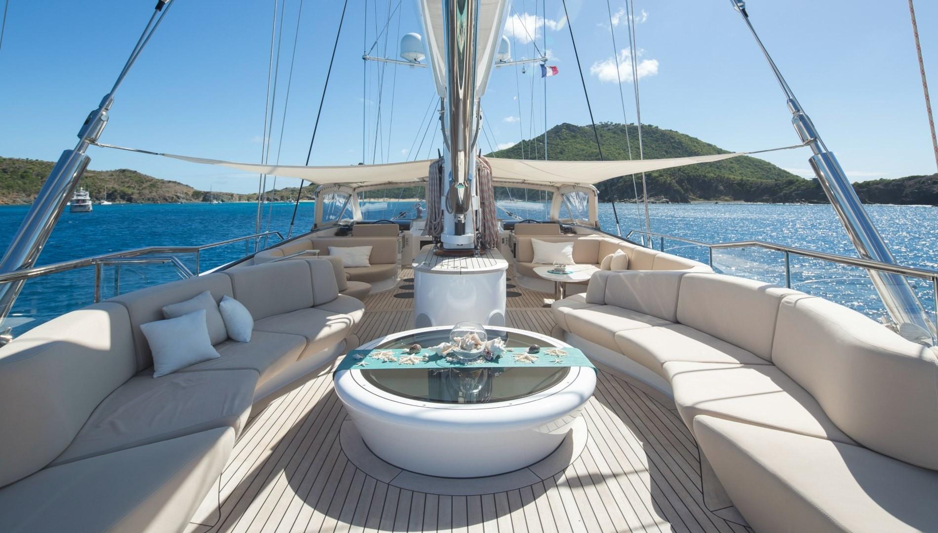 Yacht PANTHALASSA By Perini Navi - Sundeck