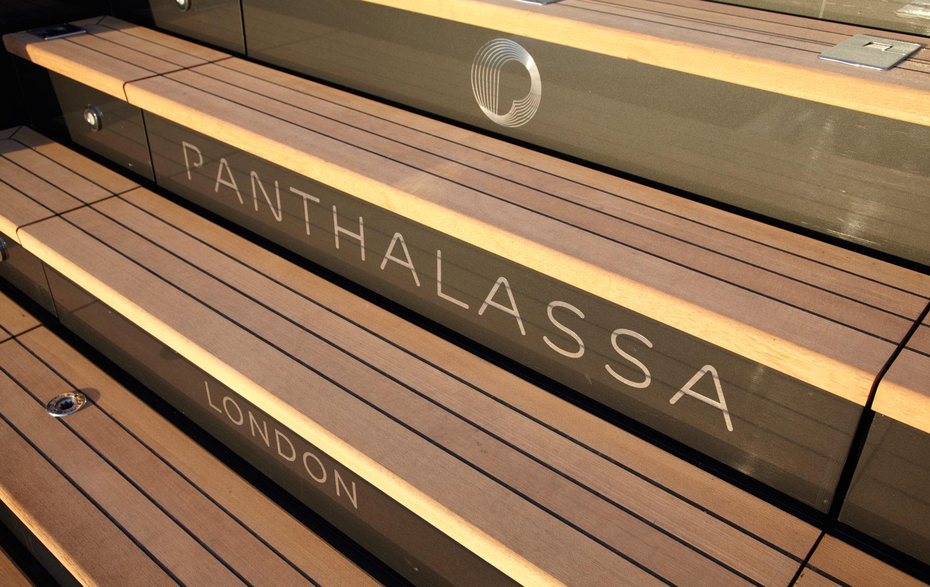 Yacht PANTHALASSA By Perini Navi - Transom Detail