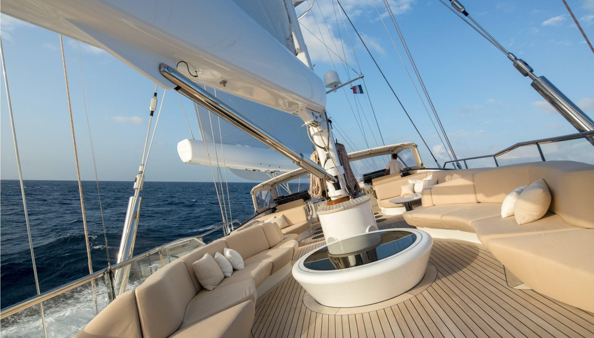 Yacht PANTHALASSA By Perini Navi - Sailing