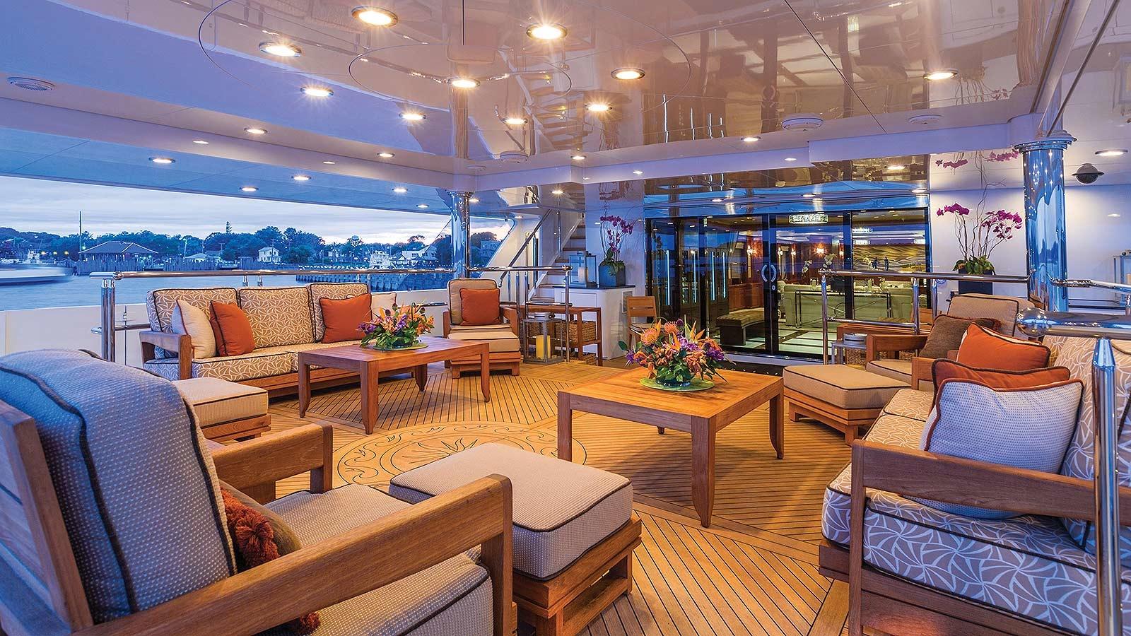 Yacht Skyfall By Trinity - Aft Deck