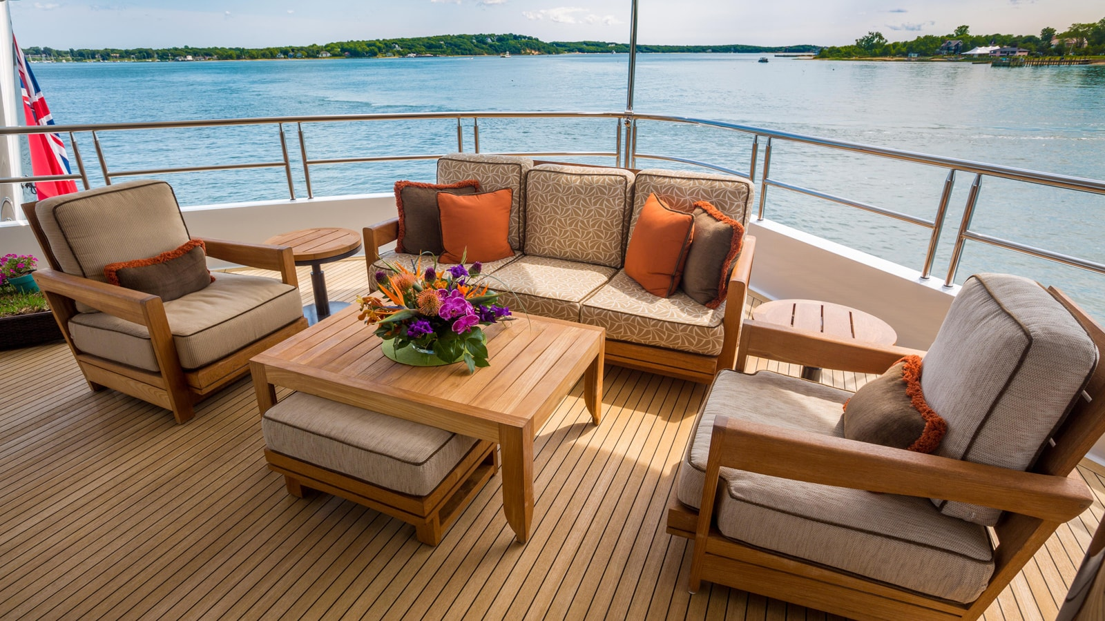 Yacht Skyfall By Trinity - Aft Seating