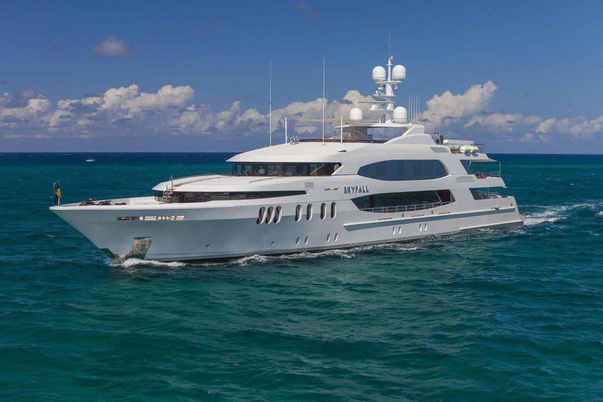 Yacht Skyfall By Trinity - Forward Profile