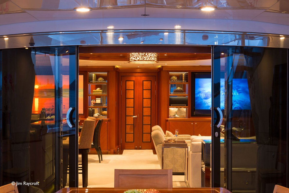 Yacht Skyfall By Trinity - Interior View