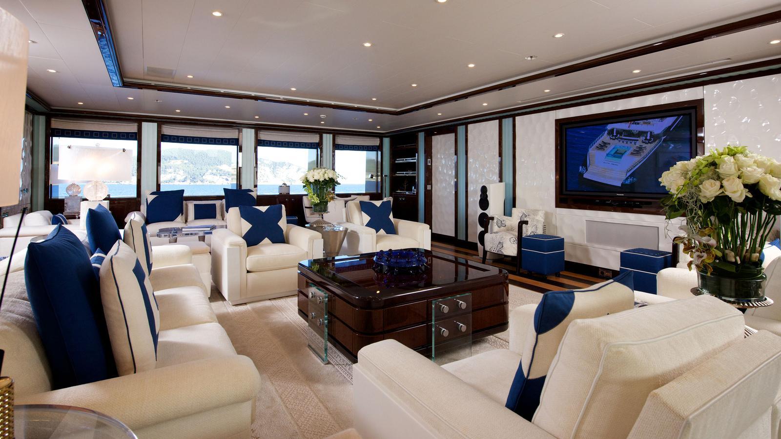 Alfa Nero Yacht Charter Details Oceanco Charterworld