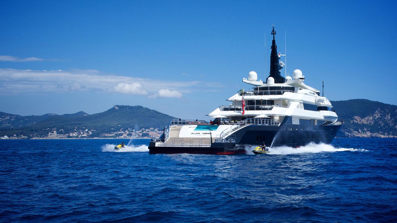 Alfa Nero by Oceanco With Water Toys