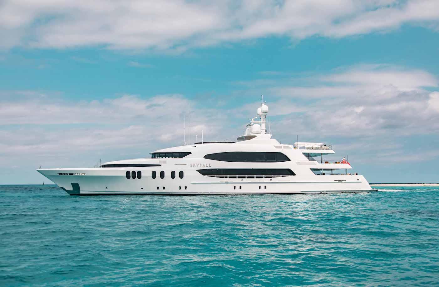 Luxury Yacht SKYFALL