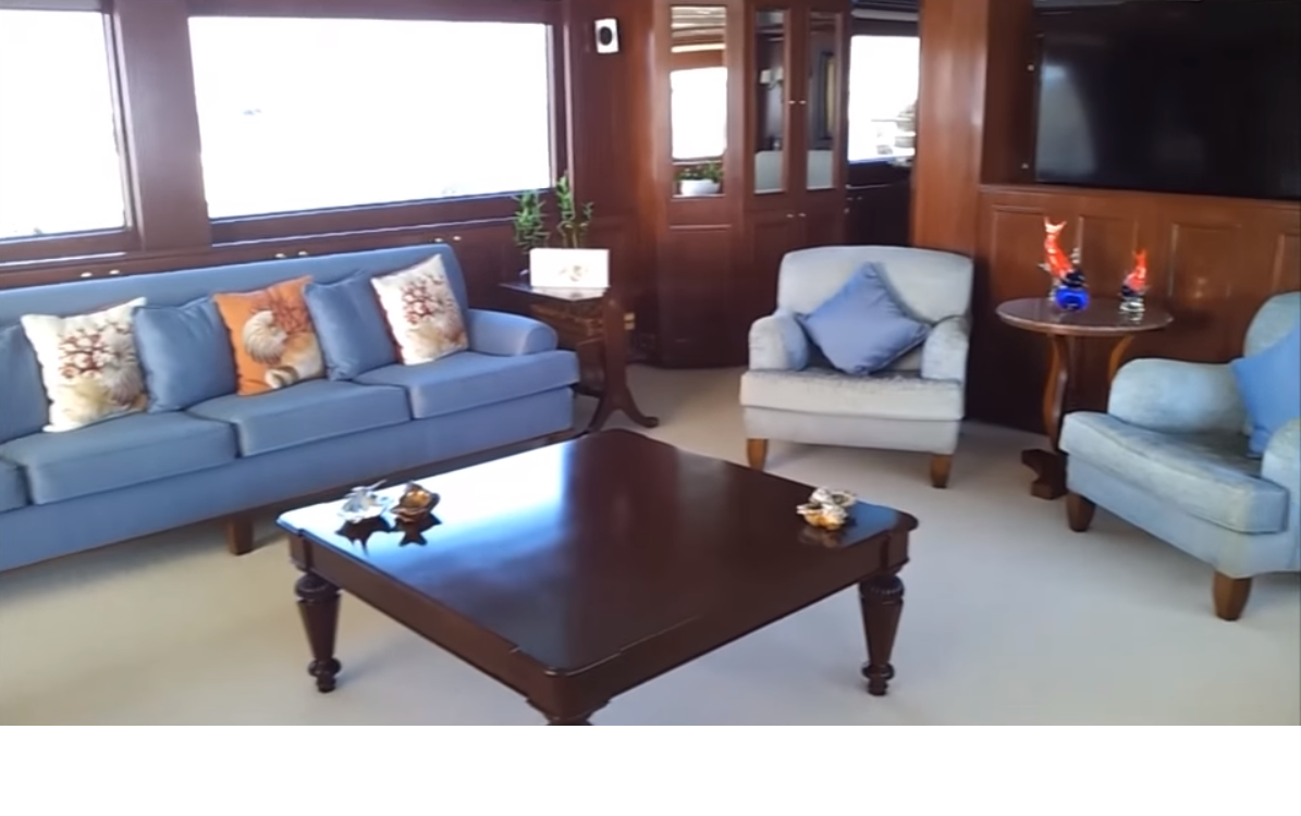 Saloon With Comfortable Seating