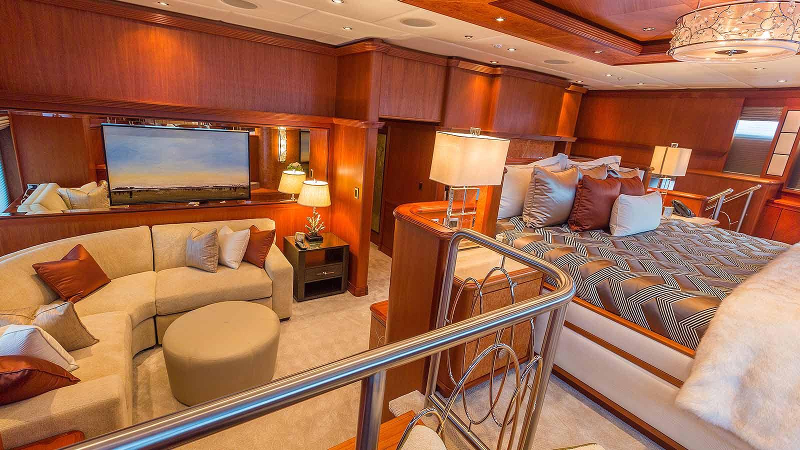 Skyfall Trinity Yacht Sale Master