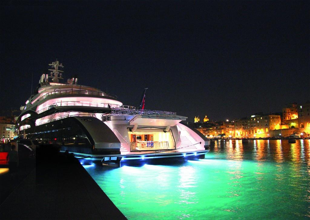 The 133m Yacht SERENE