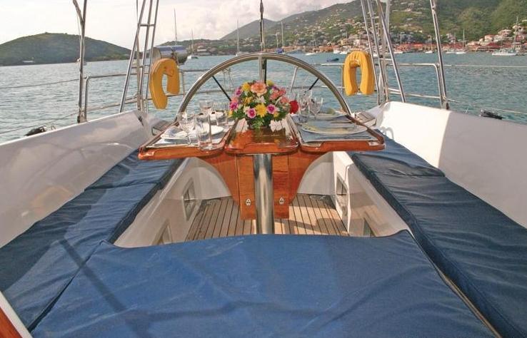 Life On Board Yacht ANAHITA