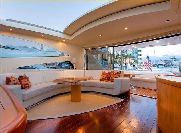 Inside On Yacht SILVER SEA