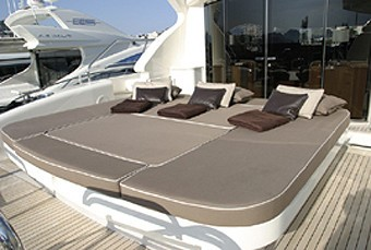 Aft Deck On Board Yacht BEST MOUNTAIN