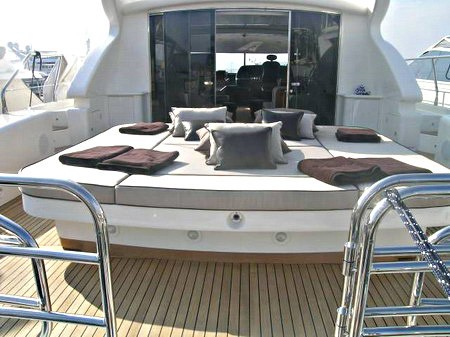 Upon Deck Aboard Yacht BEST MOUNTAIN