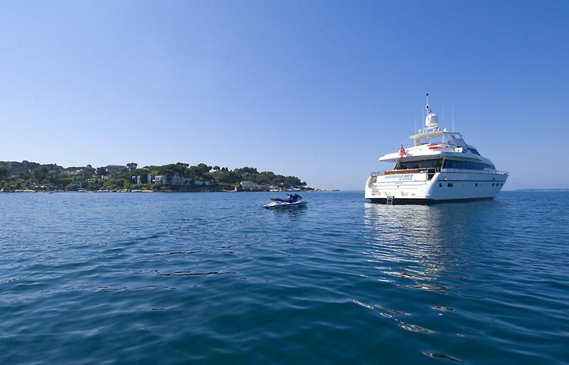 The 26m Yacht INDULGENCE OF POOLE