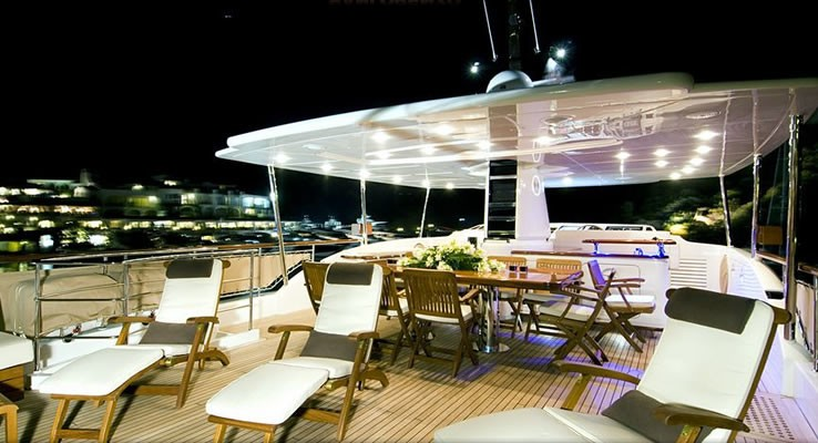 Life Aboard Yacht LADY VICTORIA