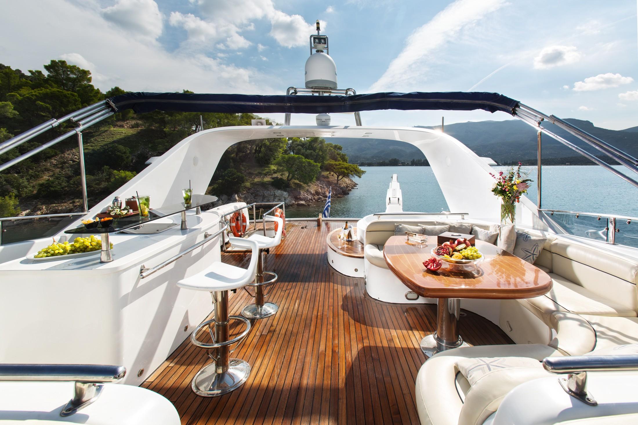 Life On Board Yacht NITTA V