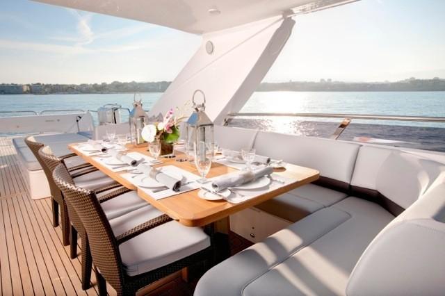 Life Aboard Yacht LIVERNANO
