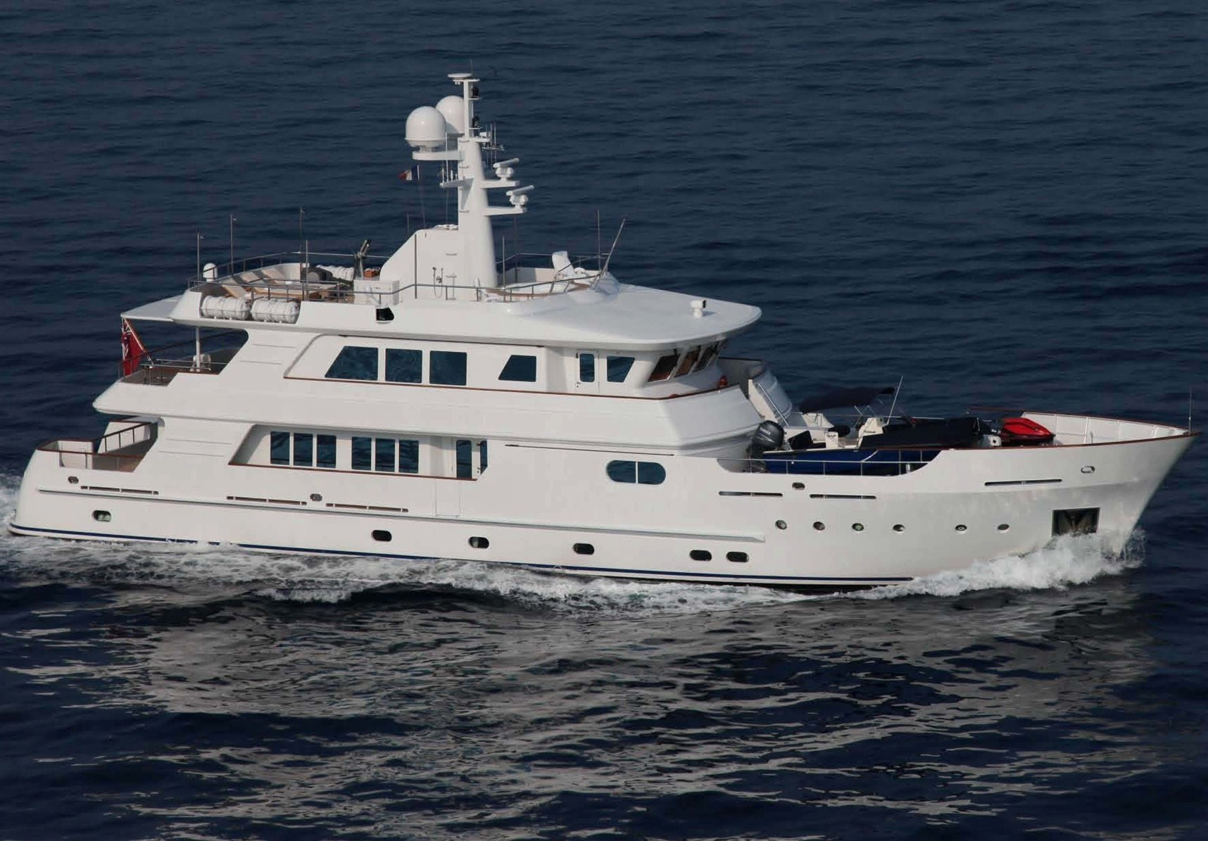 The 34m Yacht RELENTLESS