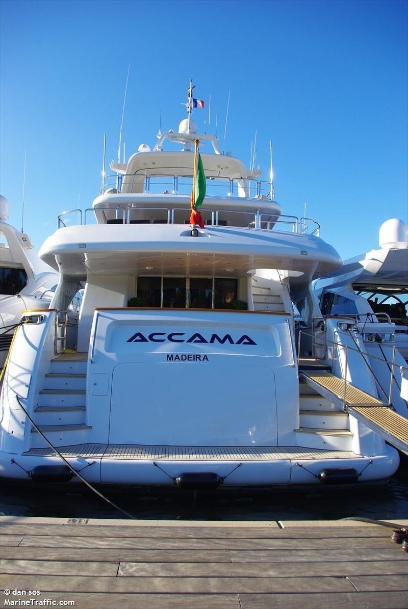 The 35m Yacht ACCAMA