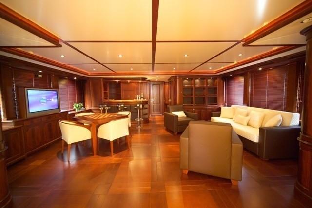 Inside On Board Yacht ANDIAMO
