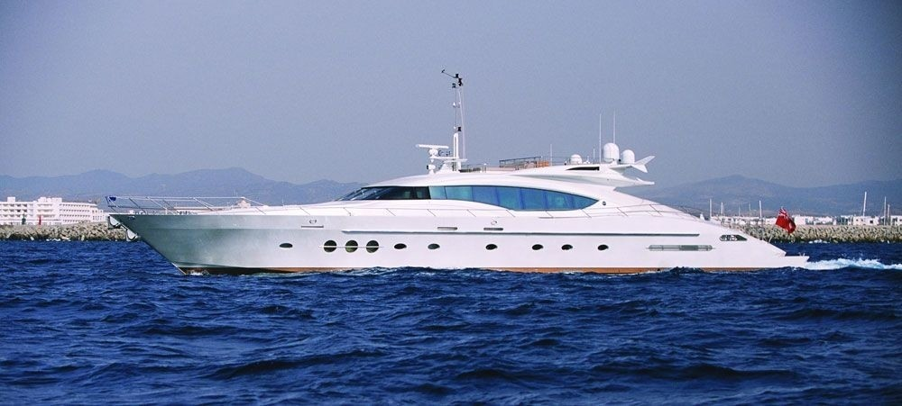 Overview On Board Yacht ESCAPE II