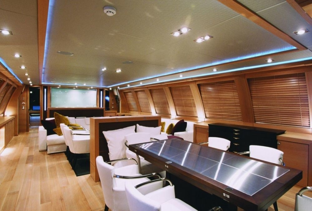 Eating/dining With Saloon On Yacht ESCAPE II