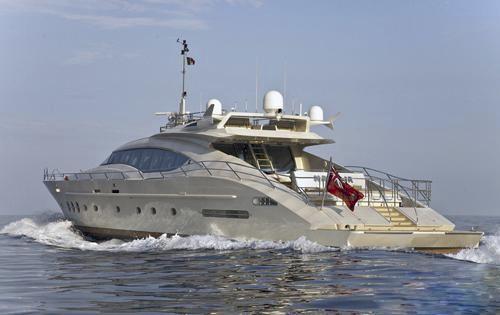 Aft Aspect: Yacht ESCAPE II's Cruising Captured