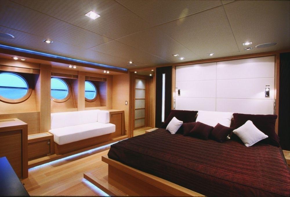 Cabin Aboard Yacht ESCAPE II