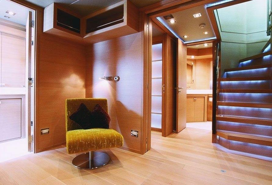 Lobby Aboard Yacht ESCAPE II